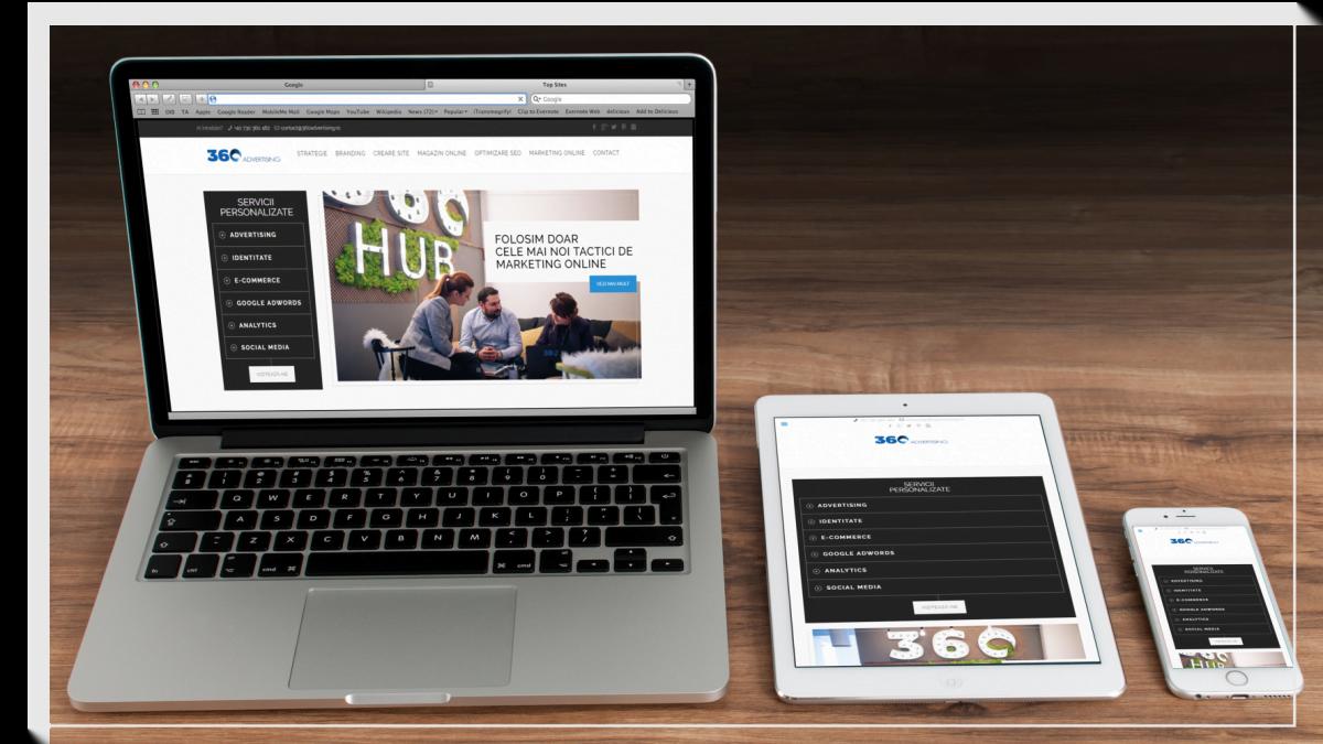 Website responsive - adapteaza layout-urile paginilor